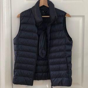 Uniqlo ultra light down vest.
